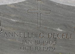 Annellie <i>Gordy</i> Decell