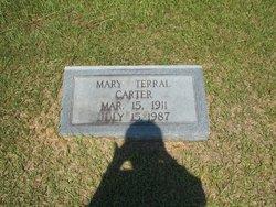 Mary <i>Terral</i> Carter