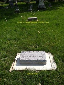 Bertha A <i>Carey</i> Lowther