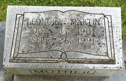 Leonora <i>Martin</i> Nowlin