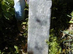 William D Vandiver