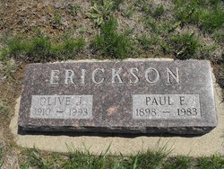 Olive J. <i>Olson</i> Erickson