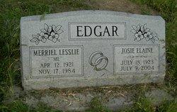 Josie Elaine <i>Macomb</i> Edgar
