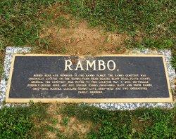 Mary Ann <i>Prior</i> Rambo