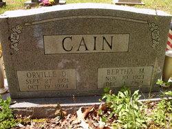 Bertha M. Cain