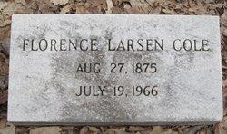 Florence <i>Larsen</i> Cole
