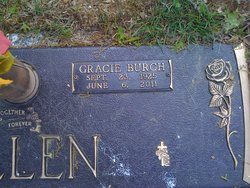 Gracie <i>Burch</i> Allen