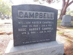 Rose Harriet <i>Fert�</i> Campbell