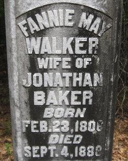 Fannie May <i>Walker</i> Baker