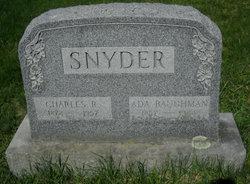 Ada <i>Baughman</i> Snyder