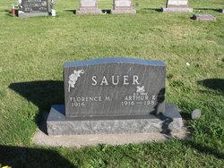 Florence Mathilda <i>Beck</i> Sauer