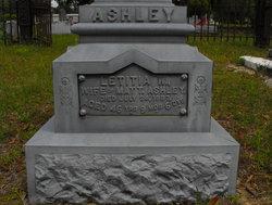 Letitia W. <i>Rogers</i> Ashley