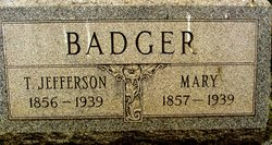 Thomas Jefferson Badger