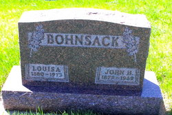 Louisa <i>Scharf</i> Bohnsack