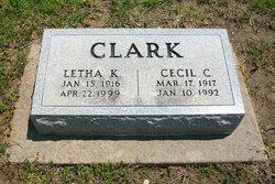 Letha H <i>Helvie</i> Clark