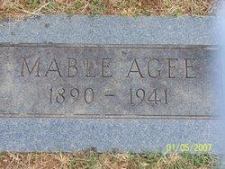 Mabel C <i>Agee</i> Pebley