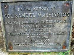 Col Samuel Washington
