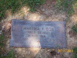 Martha Frances Cox
