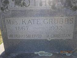 Katheryn Ann Kate <i>Carter</i> Grubbs