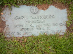 Pvt Carl Franklin Reynolds