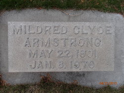 Mildred <i>Clyde</i> Armstrong