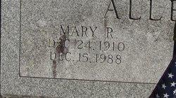 Mary R Allen