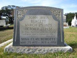 Nina <i>Clay</i> Burgett