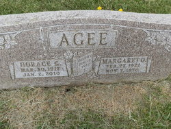 Horace G Agee