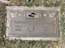 Elizabeth J Betty <i>Eveland</i> Boughter