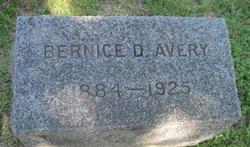 Bernice D Avery