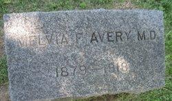 Dr Melvia F Avery