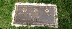 Marjorie Mathys <i>Worth</i> Bakke