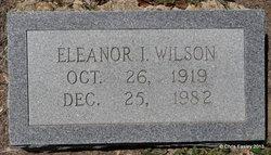 Eleanor I <i>Livingston</i> Wilson