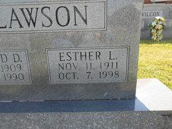 Esther L Clawson