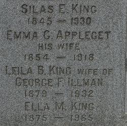 Emma G. <i>Appleget</i> King