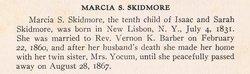 Marcia E <i>Skidmore</i> Barber
