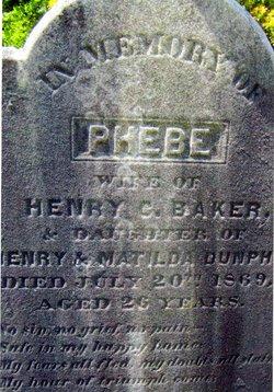Phebe <i>Dunphy</i> Baker