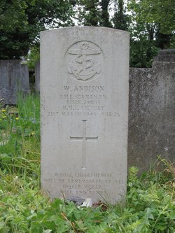 Able Seaman Walter W Andison