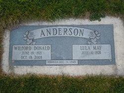 Lula May <i>Cline</i> Anderson