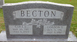 Cora S Becton