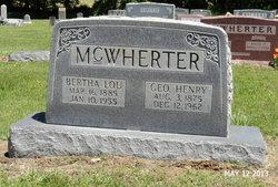 Bertha Lou <i>Walker</i> McWherter