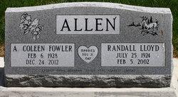 A Coleen <i>Fowler</i> Allen