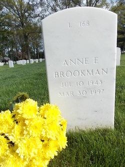 Anne E Brookman