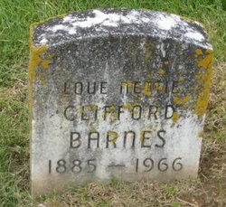 Loue Nettie <i>Hubbard</i> Clifford-Barnes