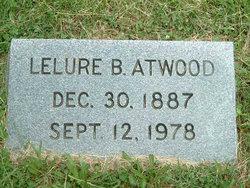 Lelure B. <i>Morrison</i> Atwood