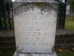 Mary Ann <i>Truett</i> Driskell