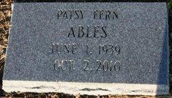 Patsy Fern <i>Poindexter</i> Ables