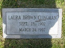 Laura C <i>Brown</i> Clingman