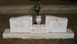 Lee Orman Dixon