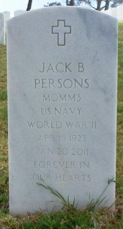 Jack Burdette Persons